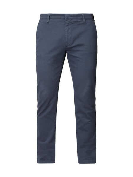 Boss Rice3-1-d - Slim Fit Chino mit Stretch-Anteil Rauchblau