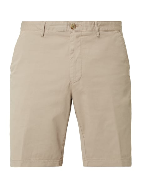 Boss Slim Fit Chinoshorts mit Stretch-Anteil Beige - 1