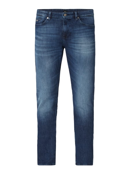 Boss Stone Washed Slim Fit Jeans Blau / Türkis - 1