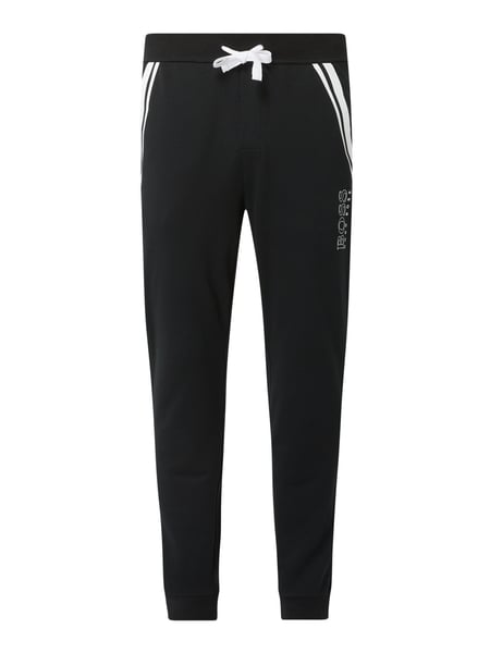 BOSS Sweatpants aus Baumwolle Modell 'Authentic' Schwarz - 1