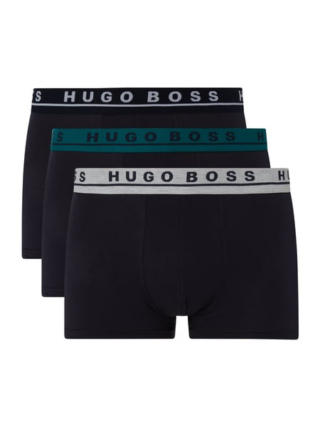 BOSS Trunks mit Stretch-Anteil im 3er-Pack Blau - 1