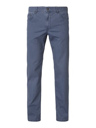 Brax Regular Fit 5-Pocket-Hose mit Stretch-Anteil Blau / Türkis - 1