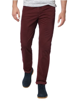 Brax Regular Fit 5-Pocket-Hose mit Stretch-Anteil Bordeaux Rot - 1