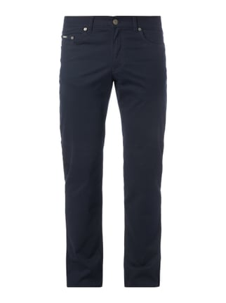 Regular Fit 5-Pocket-Hose mit Stretch-Anteil Blau / Türkis - 1