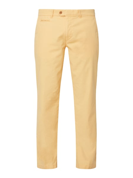Brax Regular Fit Chino aus Baumwoll-Elasthan-Mix Gelb - 1