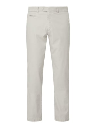 Brax Regular Fit Chino aus Baumwoll-Elasthan-Mix Grau - 1
