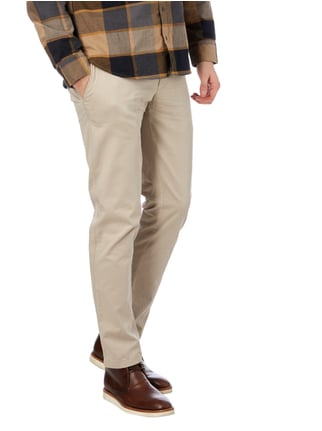 Brax Regular Fit Chino mit Stretch-Anteil Beige - 1