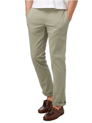 Brax Regular Fit Chino mit Stretch-Anteil Lindgrün - 1