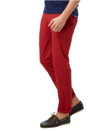 Brax Regular Fit Chino mit Stretch-Anteil Rot - 1