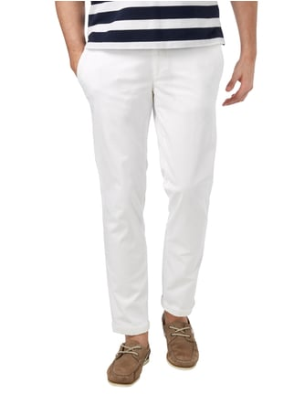 Brax Regular Fit Chino mit Stretch-Anteil Weiß - 1