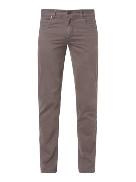 Brax Cadiz - Straight Fit 5-Pocket-Hose mit Stretch-Anteil Mittelgrau