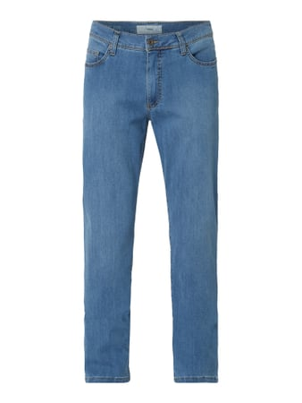 Brax Straight Fit Jeans mit Stretch-Anteil Blau - 1