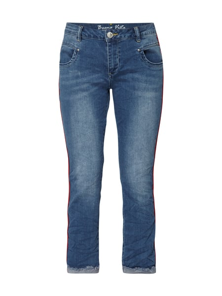 Buena Vista Anna C7/8 112 - Stone Washed Slim Fit Jeans in 7/8-Länge Dunkelblau