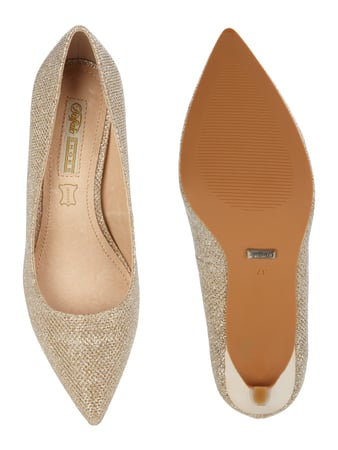 Buffalo Pumps in Lacklederoptik Gold - 1