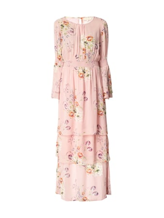 BYTIMO Maxikleid mit floralem Muster Rosa - 1