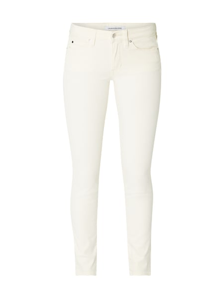 Calvin Klein Jeans Coloured Skinny Fit Jeans Weiß - 1