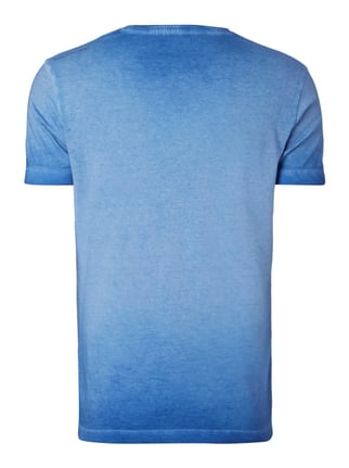 Calvin Klein Jeans T-Shirt im Washed Out Look Royalblau - 1
