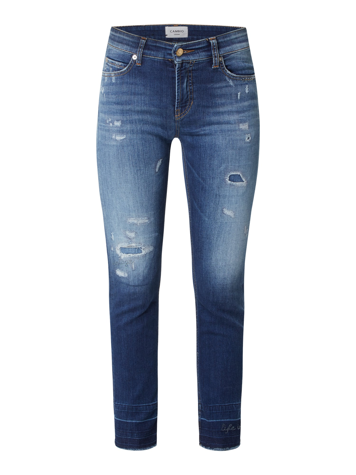 CAMBIO Ankle Cut Jeans mit Stretch-Anteil Modell 'Paris ...
