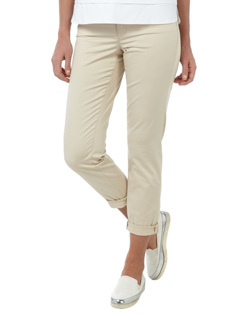 Cambio Coloured 5-Pocket-Hose mit Zierpaspeln Sand - 1
