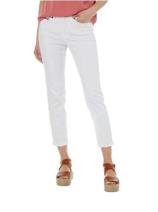 Cambio Coloured 5-Pocket-Jeans mit Stretch-Anteil Weiß - 1