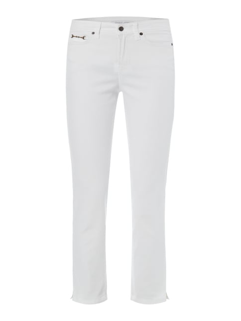 Coloured 5-Pocket-Jeans mit Stretch-Anteil Weiß - 1