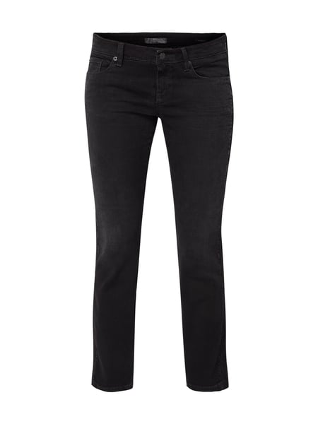 Cambio Coloured Cropped Jeans Schwarz - 1