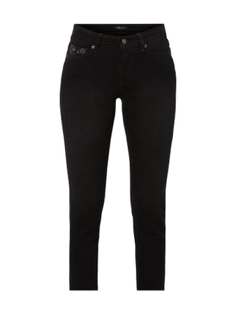 Cambio Coloured Cropped Jeans Grau / Schwarz - 1