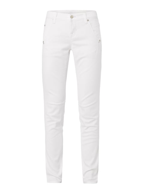 Coloured Fashion Fit Jeans Weiß - 1