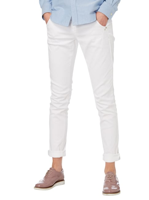 Cambio Coloured Fashion Fit Jeans Weiß - 1