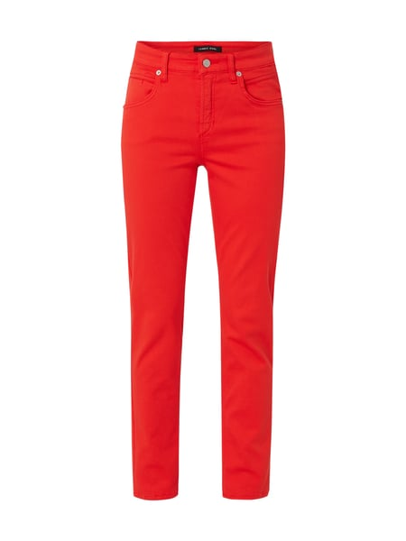 Cambio Coloured Jeans mit Stretch-Anteil Rot - 1
