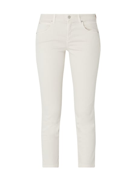 Cambio Coloured Slim Fit Jeans Beige - 1