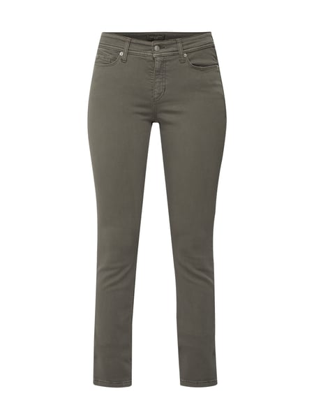Cambio Coloured Slim Fit Jeans Grün - 1