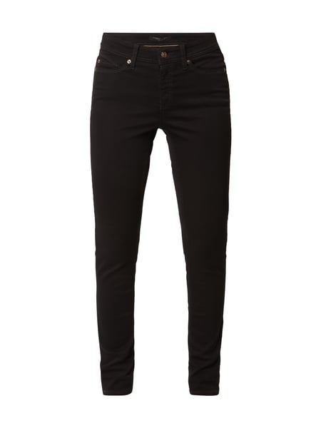 Cambio Parla - Coloured Slim Fit Jeans Schwarz