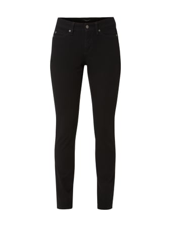 Cambio Coloured Slim Fit Jeans Schwarz - 1