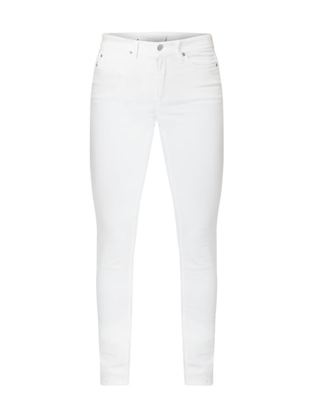 Cambio Coloured Slim Fit Jeans Weiß - 1
