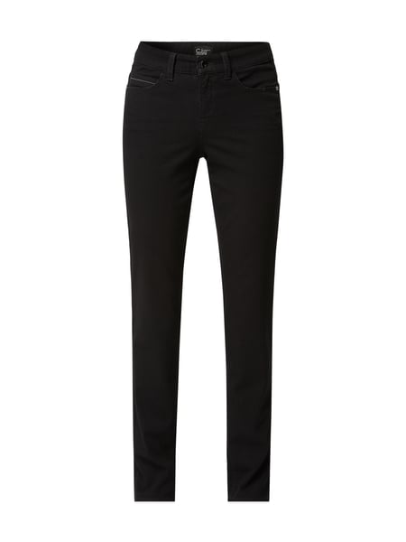 Cambio Coloured Straight Fit Jeans Schwarz - 1