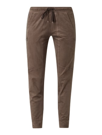 Cambio Easy Pants mit Kettendetails Beige - 1