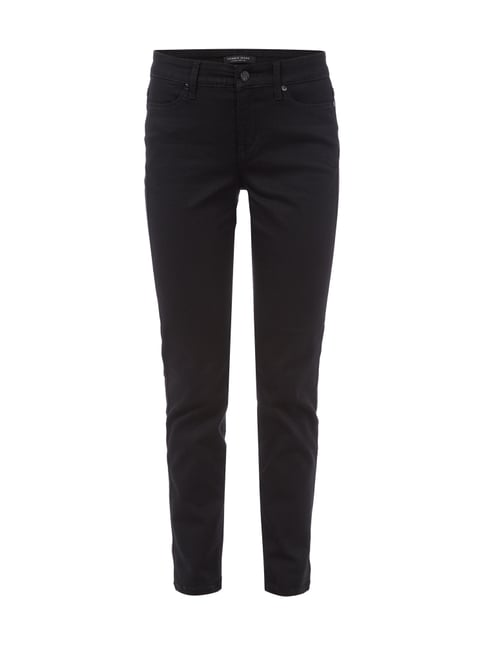 Jeans aus Coloured Denim Grau / Schwarz - 1