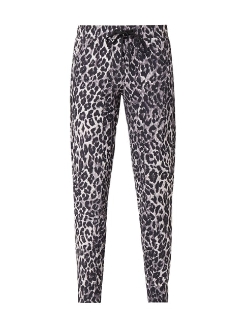 pretty nice 26f23 d3311 Cambio Jogpants mit Leopardenmuster Weiß - 1 ...