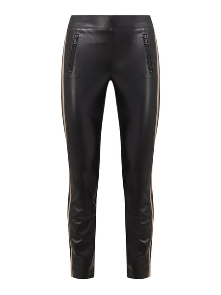 Cambio Leggings in Leder-Optik Modell 'Ray' Schwarz - 1