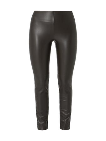 Cambio Leggings in Lederoptik Braun - 1