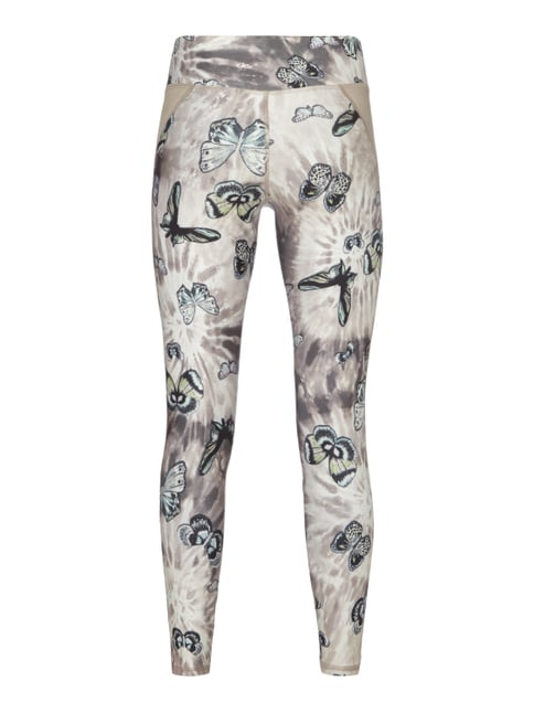 Cambio Leggings mit Schmetterlingsmuster Sand - 1
