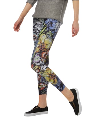Cambio Leggings mit Tattoomuster Pseudo - 1