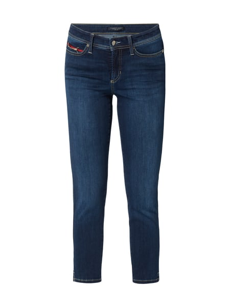 Cambio Piper Short - Light Stone Washed Slim Fit Jeans Jeans