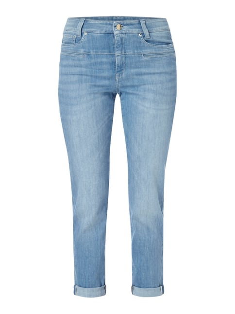 One Washed High Waist Jeans Blau / Türkis - 1