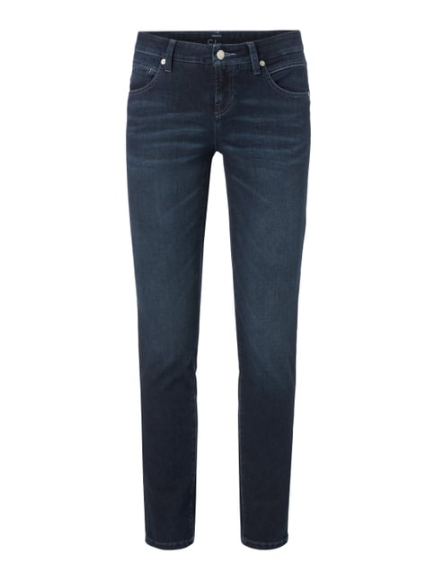 One Washed Slim Fit Jeans Blau / Türkis - 1