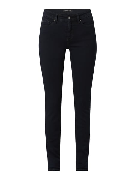 Cambio Skinny Fit Jeans mit Stretch-Anteil Modell 'Parla' Blau - 1
