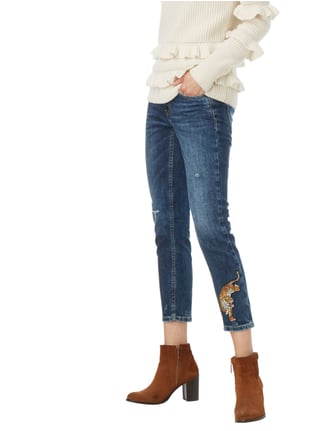 Cambio Slim Fit Jeans im Destroyed Look Jeans - 1