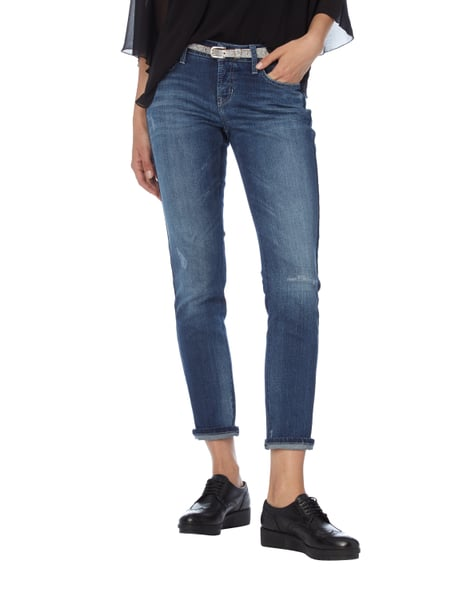 Slim Fit Jeans im Used Look Cambio k8e6D
