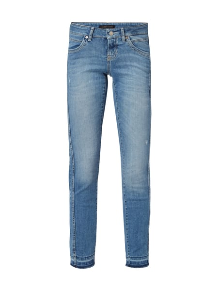 Cambio Love - Slim Fit Jeans im Used Look Jeans